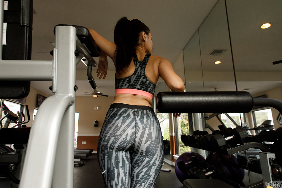 Eloisa Guerra Jumping Out The Gym - 1