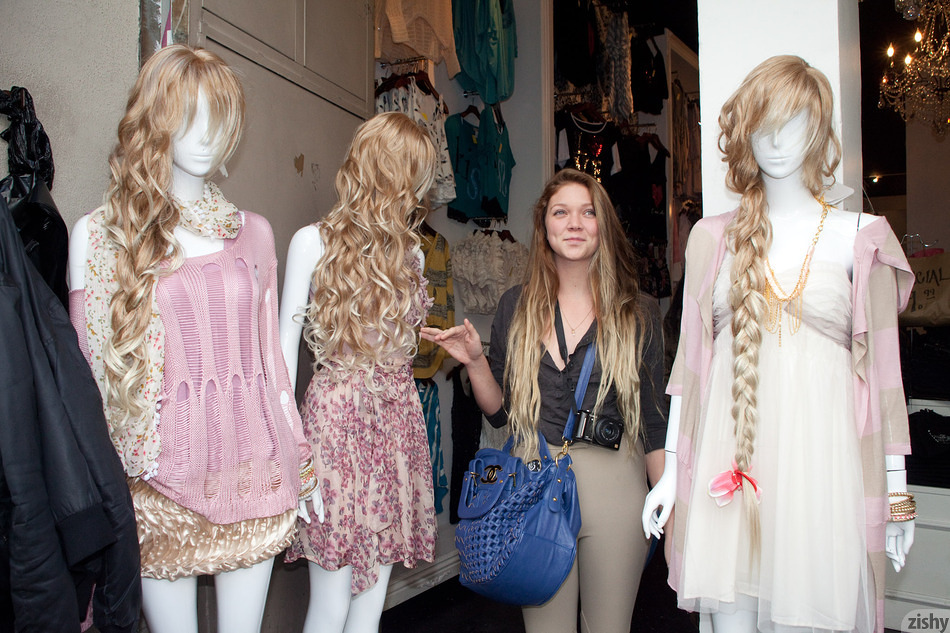 Jessie Andrews In The Fashion District - 1