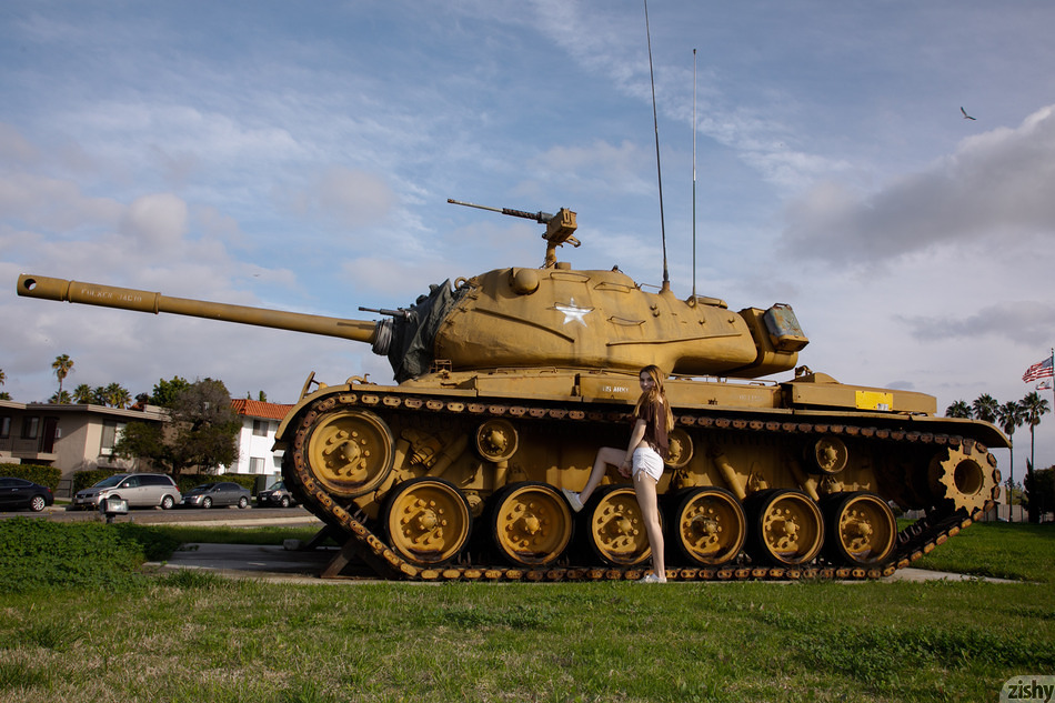 Lauralynn Parrish Give Peace A Tank - 1