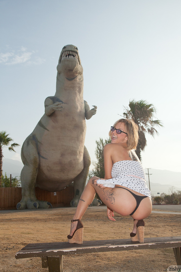 Piper Candless Cabazon Dinos - 3