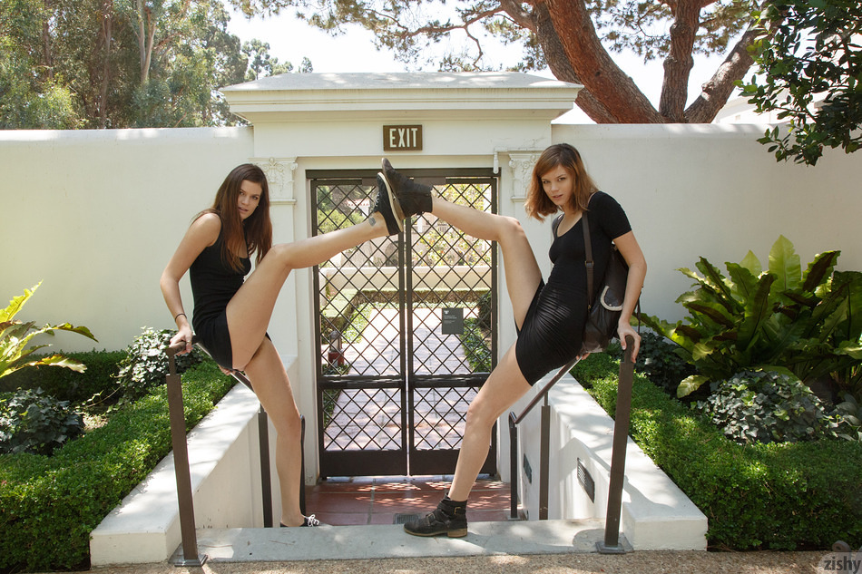 Romi and Raylene Visit the Villa - 2